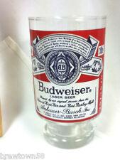 Budweiser beer glass barware Anheuser-Busch brewery tavern pub saloon club KZ9