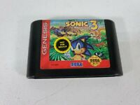 Sonic the Hedgehog 3 (Sega Genesis, 1994) authentic game only