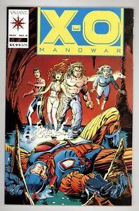 X-O Manowar 4 NM+ 9.6 1st App of Shadowman Valiant Comics 1992