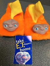 1982 E.T. THE EXTRA-TERRESTRIAL SLIPPERS (The Ugliest Slippers Ever)