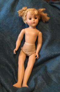 "Vintage 1950's Arranbee R&B Hard Plastic 17"" Doll ""Nancy Lee"""