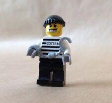 Lego ladrón 23768. C/W esposas, ha Diente de Oro y Negro Cap-policía de la ciudad