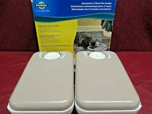 Petsafe Automatic 2 Meal Pet Cat/Dog Feeder 48 Hour Programming PFD11-13706