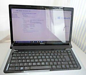 """Dell Studio 1555 laptop 15"""" PP39L 118GB SSD 4GB  P7350 cpu Win10 90w powerblock"""