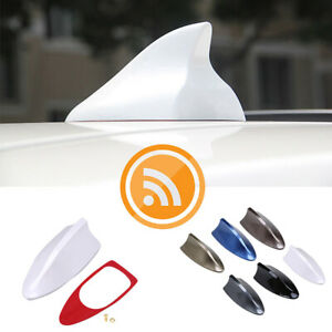 22 Colors Car Roof Shark Fin Antenna FM/AM Radio Aerial Universal Fit For BMW