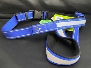 LED reflective Harness Blue