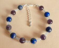Gemstone Crystal Healing Phobias Anxiety Panic Attacks Bracelet Gift Bag