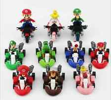 Lote 10 figuras SUPER MARIO KART figure figur Nintendo 3ds juguete niños