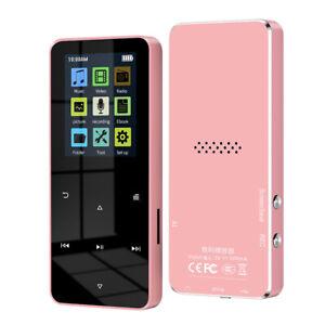 32G Bluetooth 4.2 Touch Screen MP3 MP4 Player Lossless Sound HIFI Music FM Radio