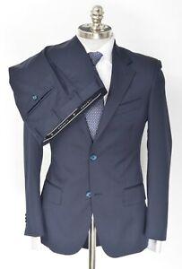 NWT SARTORE Navy Super 110's Wool Modern Slim 2Btn Suit 32 6R (EU 42) Youth