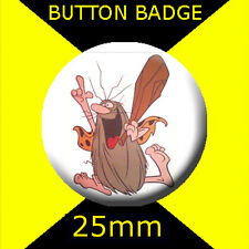 CAPTAIN CAVEMAN - CULT TV -  Button Badge 25mm