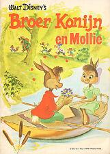 BROER KONIJN EN MOLLIE - WALT DISNEY (1972)