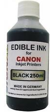 Black Edible Ink for Canon Printers - 250ml