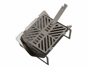 Emperor mini charcoal grill, Camping, tailgating, table top, portable!