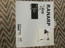 Ikea Ranarp Wall Lamp Clamp Spotlight Off-white