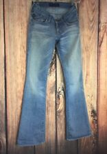 ROCK and REPUBLIC Light Blue Skinny Flare Womens 24x32 Denim Jeans USA-Made