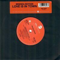 Brenda Boykin - Love Is In Town / Hard Swing - Modern Northern Soul 45 Listen