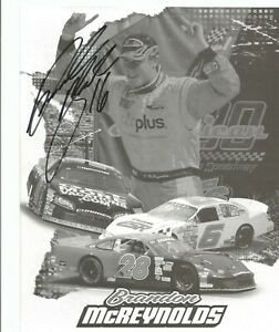 Brandon McReynolds Autographed 8x10 Postcard L@@K