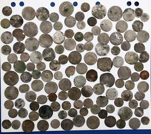 Altdeutschland (Bayern, Württemberg) Lot von 130 Silbermünzen schwach erhalten