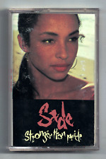 Stronger Than Pride by Sade (Cassette, 1988, Epic)