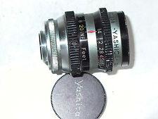 Cine Yashica 13mm/1.4 coated lens  Dmt m15  lens for Pentax Q Q10 Q7 Q-S1