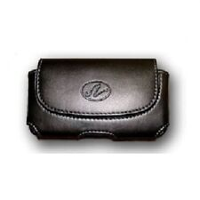 Horizontal Leather Cover Holster Case Pouch For At&T Alcatel Cingular Flip 2