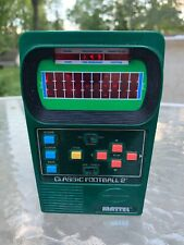 Mattel CLASSIC FOOTBALL 2 Handheld Electronic Game (2002) - Tested/Works