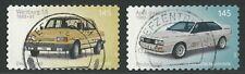 Wartburg 1.3 und Audi quattro - 145 Cent - skl. - gestempelt - Mi.Nr. 3378-3379