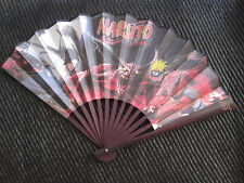 Naruto Anime / Manga Bamboo Folding Fan