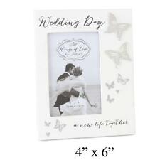Wedding DAY FARFALLA Photo Frame Wings of Love wg427