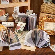 Vintage Material Book Scrapbooking & Paper DIY Crafts Photo Labels Decor L1K8