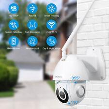 YI IOT HD 1080P WiFi IP Security Camera Pan/Tilt IP66 Outdoor Works With Alexa