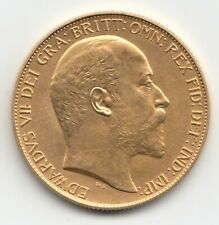 More details for rare 1902 king edward vii matt proof gold double sovereign coin - £2 two pound