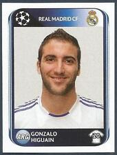 PANINI UEFA CHAMPIONS LEAGUE 2010-11- #446-REAL MADRID-GONZALO HIGUAIN