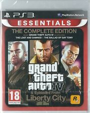 Playstation 3 ps3 Grand Theft Auto IV Complete Edition (IMPORT) NEW
