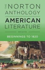 The Norton Anthology of American Literature by Robert S. Levine (2016,...