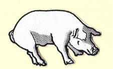 Pig - Farm Animal - Hog - Swine - Bacon - Embroidered Iron On Applique Patch