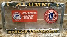 2 - Officially Licensed Baylor Bears Alumni Metal License Plate Frame - Car Auto