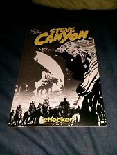 Milton caniff's STEVE CANYON 1950 Checker publishing Trade Paperback book tpb gn