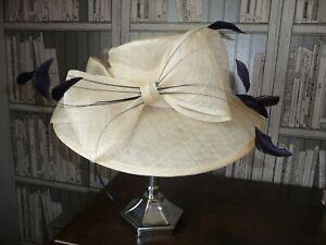 Ladies Designer Wedding Hat/ Races/ Mother Bride. Used once