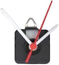 Quarz Uhrwerk aus Kunststoff Ersatz Quarzuhr Wanduhr Zeiger Weiße Zeiger