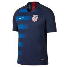 Nike United States USA USMNT 2018 Away Soccer Jersey Navy Blue Red