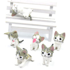 6 Pcs Japanese Anime Chi's Sweet Cat Lovely Toy Doll Cosplay Home Decor Plastic