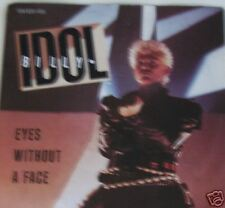 """7"""" 80´s CLASSIC ROCK ! BILLY IDOL : Eyes Without A Face"""