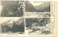 CLAUT - VALLATA SENONS - FONTE PUZZA - VEDUTINE (PORDENONE) 1926