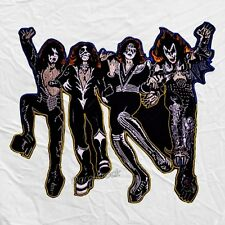 Kiss Destroyer Embroidered Big Patch Back Gene Simmons Paul Stanley Rock Band