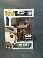 Funko Pop! Jyn Erso #148 Star Wars Smuggler's Bounty Exclusive Vinyl Figure 🌟