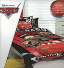 DISNEY PIXAR CARS FRIENDS TO THE FINISH LIGHTNING MCQUEEN QUILT COVER SET DOUBLE