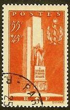 "FRANCE TIMBRE STAMP N° 395 "" MONUMENT SANTE MILITAIRE A LYON "" OBLITERE TB"