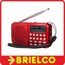 RADIO DIGITAL USB MP3 PLAYER GRABADOR VOZ RADIO AM/FM 50 PRESINTONIAS BD3911